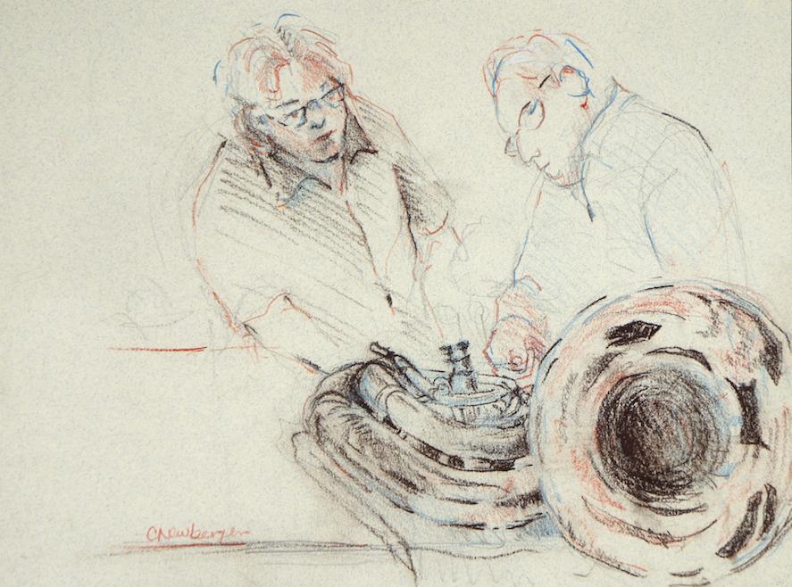 Tuba Repair with Tom Treece and Bob Carpenter