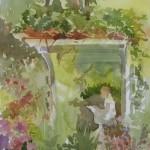 Under the Arbor, Watercolor