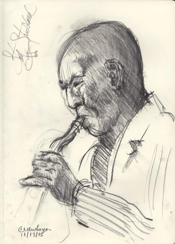 Stan Strickland, Sax