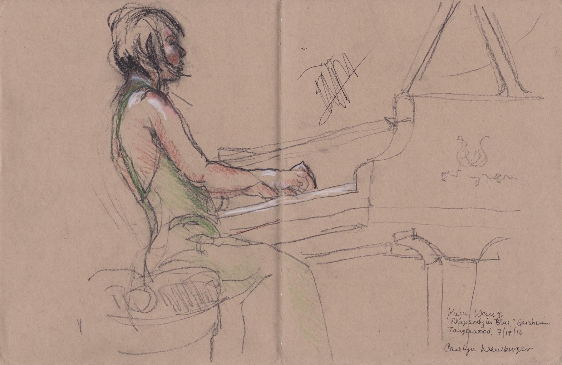 Yuja Wang at Tanglewood